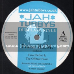 "Jah Tubbys-10""-Praise H.I.M + New Life / Errol Bellot & The Offbeat Posse(2003)"