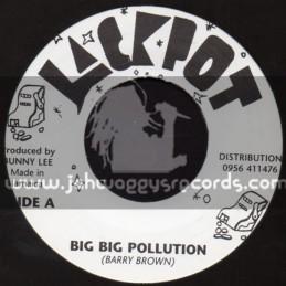 "Jackpot-7""-Big Big Pollution / Barry Brown"