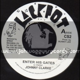 "Jackpot-7""-Enter His Gates / Johnny Clarke"