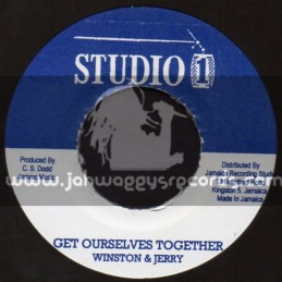 "Studio 1-7""-Get Ourselves Together / Winston & Jerry + African Chant / The Skatalites"