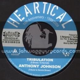 """Heartical-7""""-Tribulation / Anthony Johnson + Injustice / Rootsamala"""