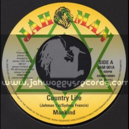 """Jah Man-7""""-Country Life / Mankind"""