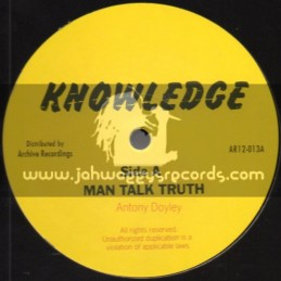"Knowledge-12""-Man Talk Truth + Let Us All / Antony Doyley"