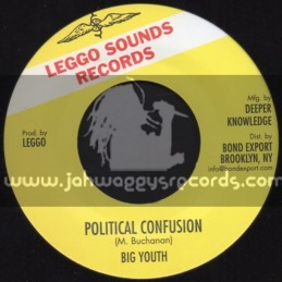 "Leggo Sounds Records-7""-Political Confusion / Big Youth"