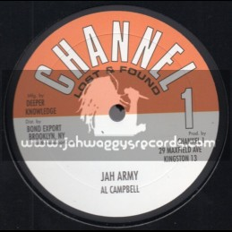 "Channel 1-10""-Jah Army / Al Campbell + Praise Him / Barry Brown"