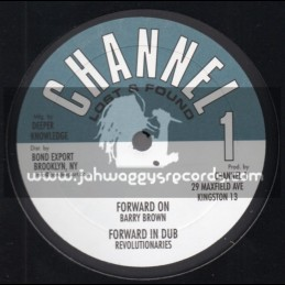 "Channel 1-10""-Forward On / Barry Brown + So Jah Mean / Clarence Parks"