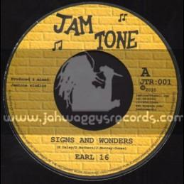 "Jam Tone-7""-Signs And Wonders / Earl 16"