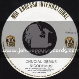 """Moa Anbessa International-7""""-Crucial Demus / Nicodemus"""