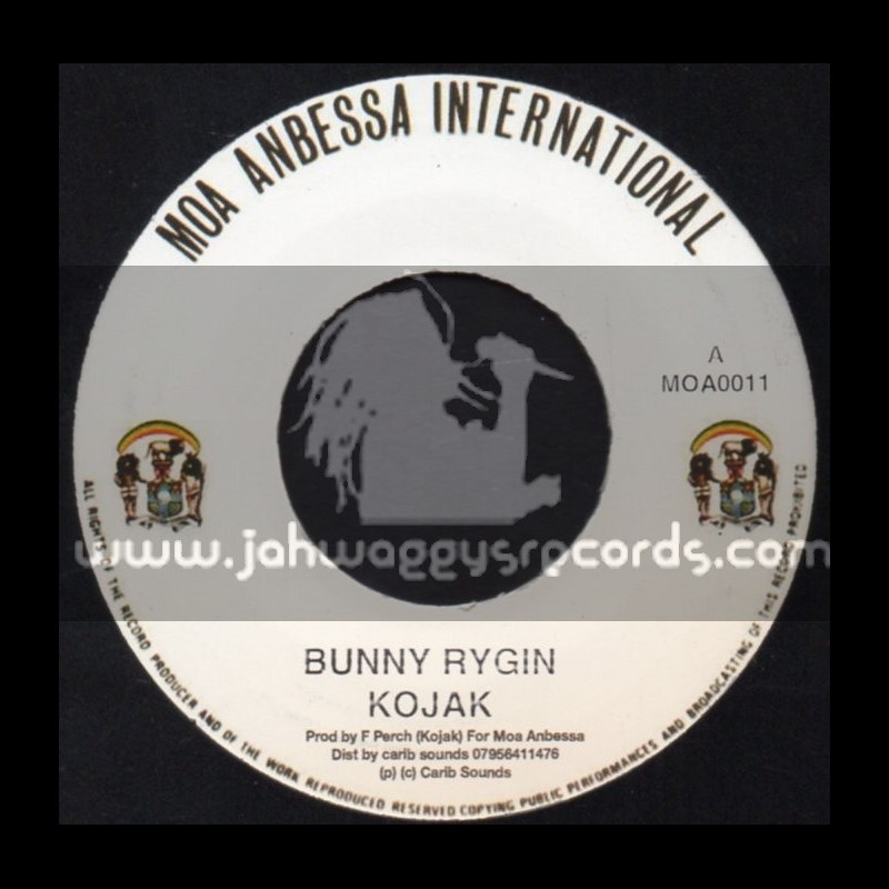 "Moa Anbessa International-7""-Bunny Rygin / Kojak"