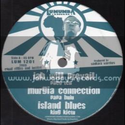 """Lumumba Records-12""""-Peaceful Man / Paco Ten + Jah Will Prevail / Paco Ten"""