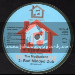 "Vibes House-10""-Bad Minded / The Meditations + Lion Strength / Dezzi D"
