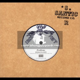 """Iron Fist-7""""-Problems / Horace Andy"""