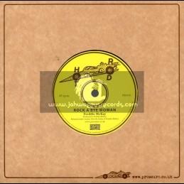 "Hot Rod-7""-Rock A Bye Woman / Freddie McKay"