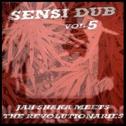 Original Music-Lp-Sensi Dub Vol 5 / Jah Shaka Meets The Revolutinaries