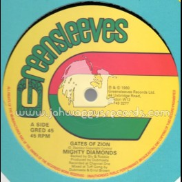 "Greensleeves-12""-Gates Of Zion / Mighty Diamonds"