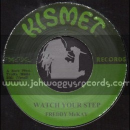 "Kesmit-7""-Watch Your Step + So Long Farewell / Freddie McKay"