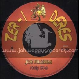 """Zer-I Deres Records-7""""-Holy One / Joe Pilgrim"""