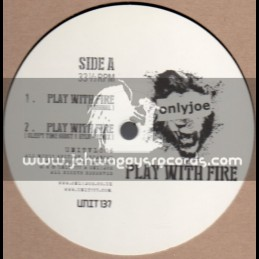 "Only Joe-12""-Play With Me/Only Joe+Dubkasm Remix+Sleepy Time Ghost Re mix+Dj Madd Remix"