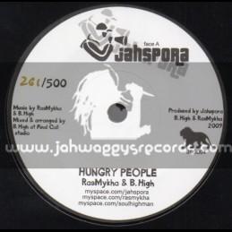 "Jahspora-7""-Hungry People / Ras Mykha & B.High"