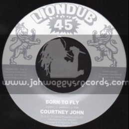 "Liondub 45-7""-Born To Fly / Courtney John"