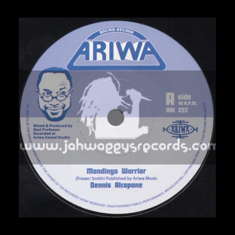 "Ariwa-7""-Mandingo Warrior / Dennis Alcapone"