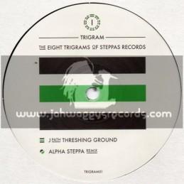 "Steppas Records-10""-The Eight Trigrams Of Steppas Records-Threshing Ground/J Path + Alpha Steppa Re-Mix"