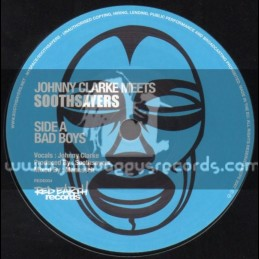 """Red Earth Records-7""""-Bad Boys/Johnny Clarke Meets Soothsayers (Manasseh)"""