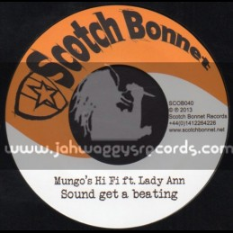 "Scotch Bonnet-7""-Sound A Get A Beating / Lady Ann"