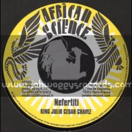"African Science-7""-Nefertiti / King Julio Ceser Chavez"