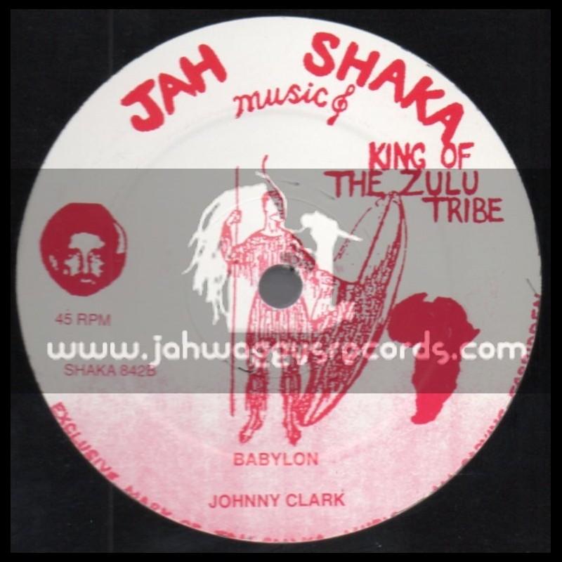"Jah Shaka Music-12""-Got To Be Strong + Babylon / Johnny Clarke"