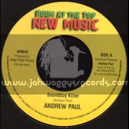 "Room At The Top-New Music-7""-Soundboy Killer / Andrew Paul"