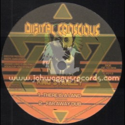 """Digital Conscious-10""""-There Is A Land + We Gwann Outernational / King Stanley"""