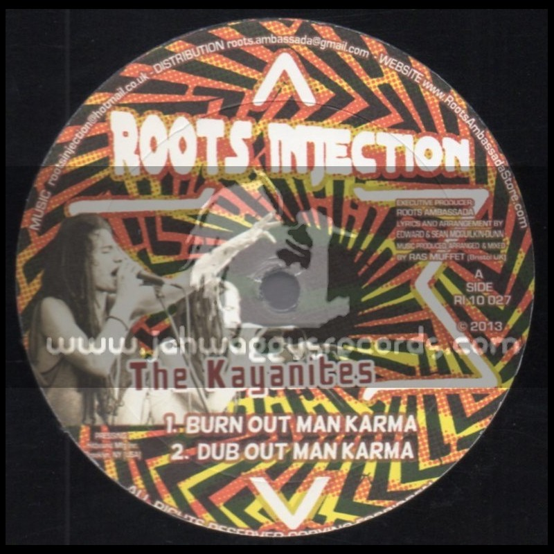 """Digital Conscious-10""""-Born Out Man Karma + Hold Your Temper / The Kayanites"""