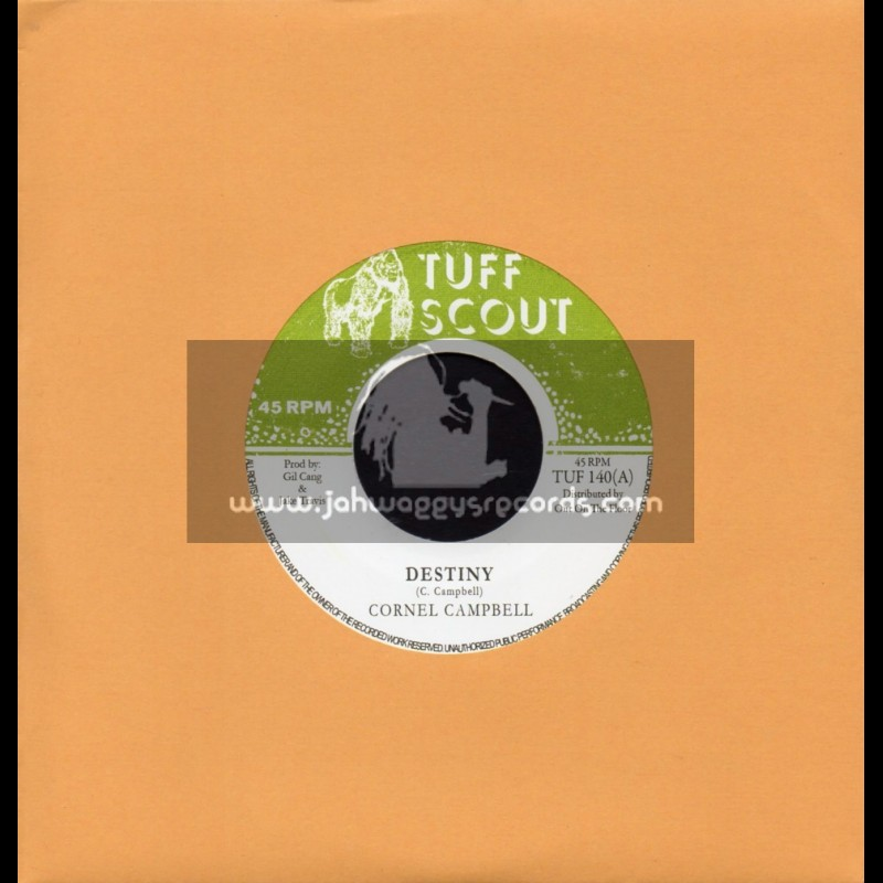 "Tuff Scout-7""-Destiny / Cornel Campbell"