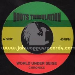 """Roots Tribulation-7""""-World Under Seige / Chronixx"""