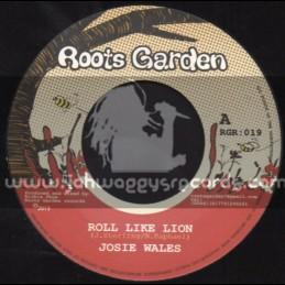 """Roots Garden-7""""-Roll Like Lion / Josie Wales"""