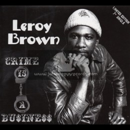 """Soul Of Anbessa-7""""-Crime Is A Business / Leroy Brown"""