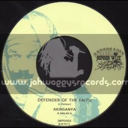 "Junior Wize-7""-Defender Of Faith / Akinsanya"