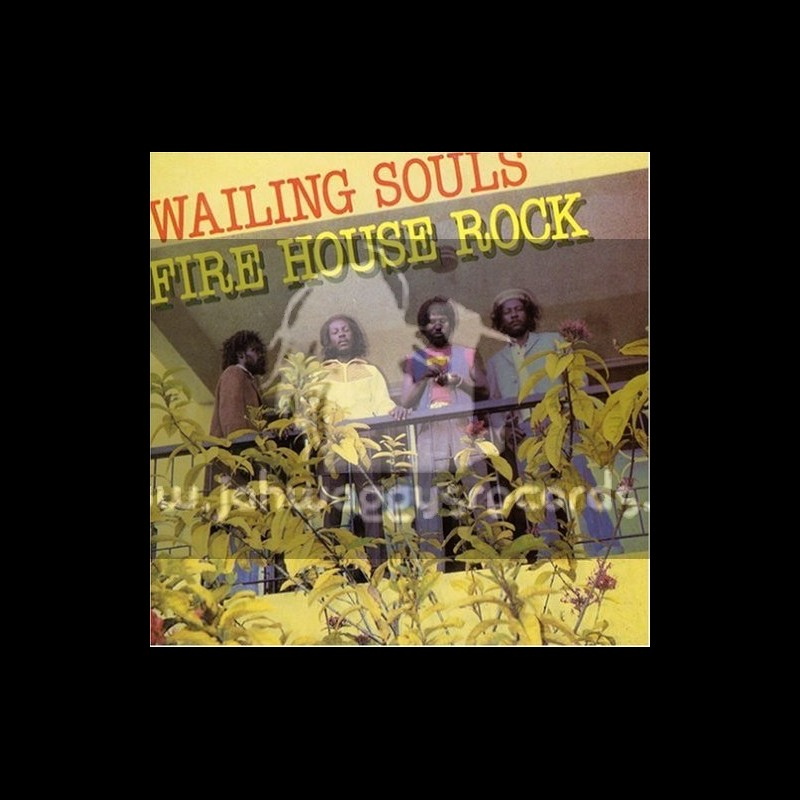Greensleeves-Lp-Fire House Rock / Wailing Souls