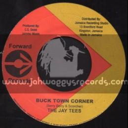 "Forward Records-7""-Buck Town Corner / The Jay Tees + Nambia / Liberation Group"