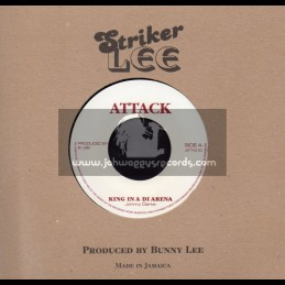 "Attack-7""-King Of The Arena / Johnny Clarke"