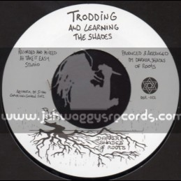 """Darker Shades Of Roots-7""""-Trodding And Learning + All As One / The Shades"""