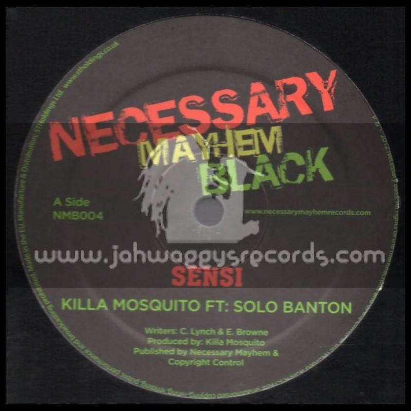Necessary Mayhem Black-12-Sensi / Killa Mosquuito Feat.Solo Banton