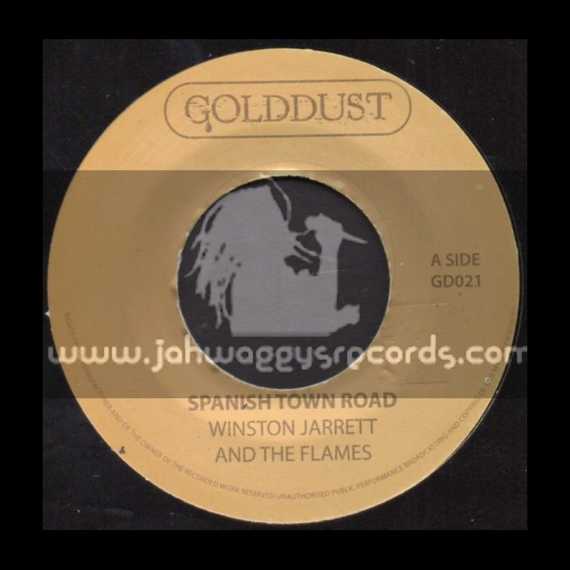 """Gold Dust-7""""-Spanish Town Road / Winston Jarrett And The Flames"""