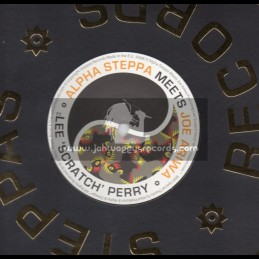 "Steppas Records-12""-Open Door / Alpha Steppa Meets Joe Ariwa Ft . Lee Scratch Perry"