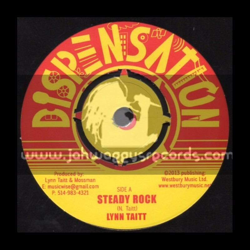 "Dispensation-7""-Steady Rock / Lynn Taitt + Beware Dub / Lynn Taitt"
