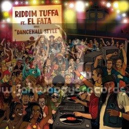 "Tuffa Dubs-12""Ep-Riddim Tuffa Ft.El Fata Inna Danchall Style"