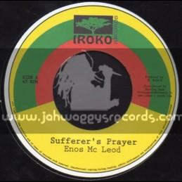 "Iroko Records-7""-Sufferers Prayer / Enos Mc Leod"