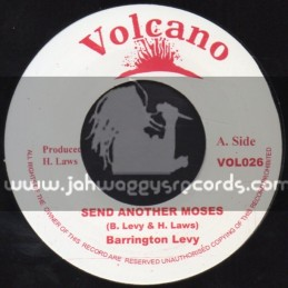 "Volcano-7""-Send Another Moses / Barrington Levy"