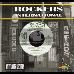 "Rockers International-7""-Better Safe Than Sorry / Bunny Brissett"